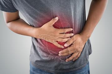 受験のストレスによる主な症状「腹痛」
