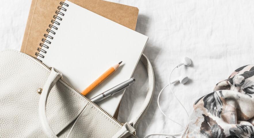 英単語ノートの覚え方のポイント「持ち運べるノートを使う」