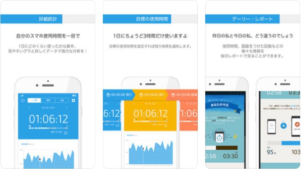 勉強に集中できるアプリ『UBhind モバイル・ライフ・パタン』