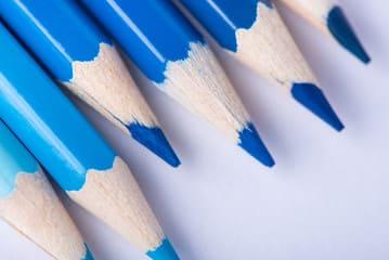 勉強に集中するなら青色