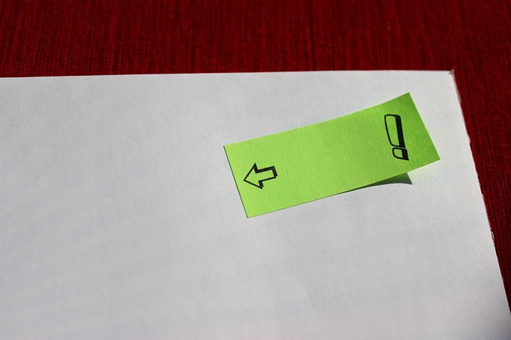 受験生におすすめのノート作り「苦手な場所に付箋を貼ろう」