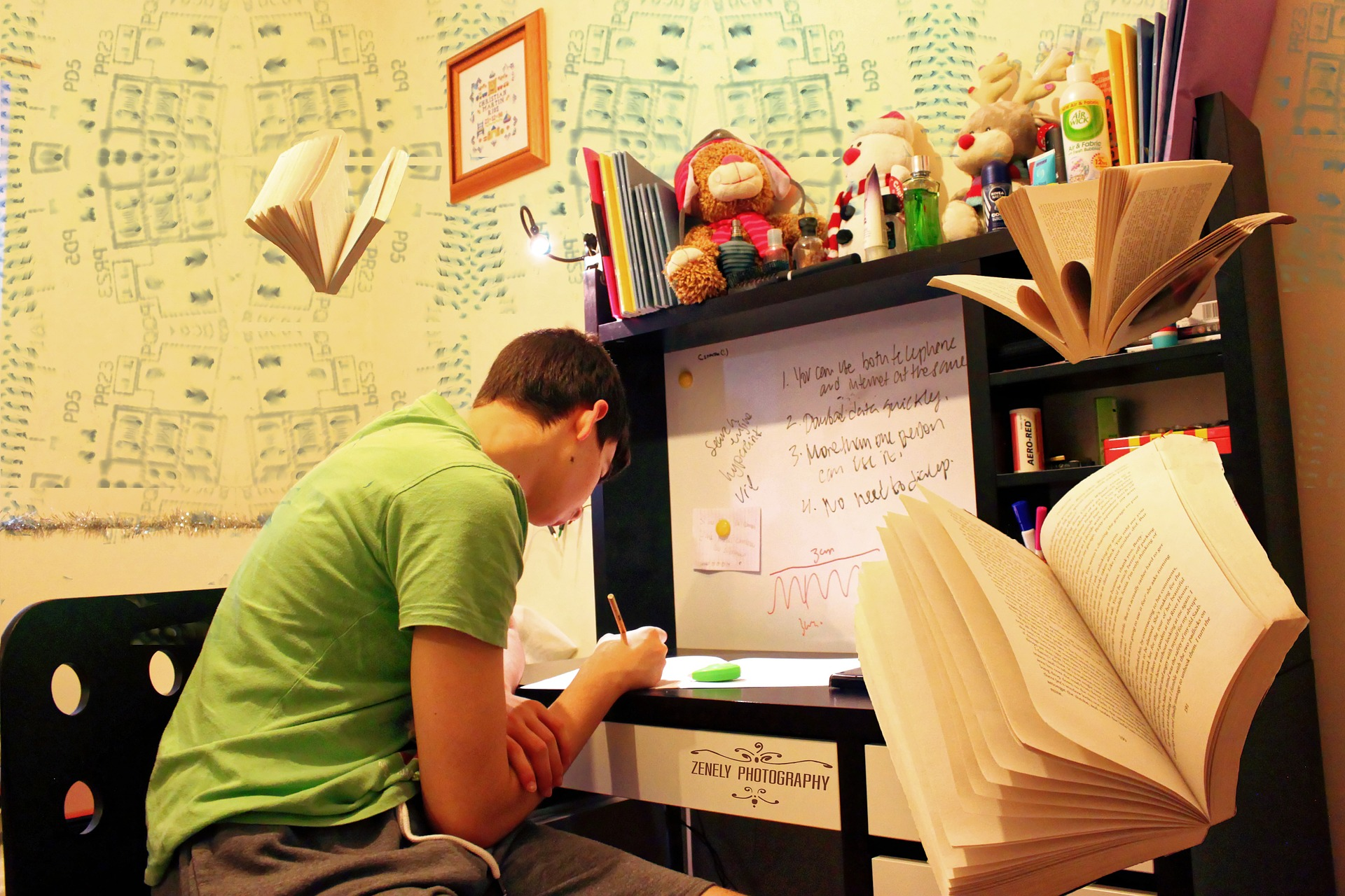 勉強に集中する時間を伸ばすには?
