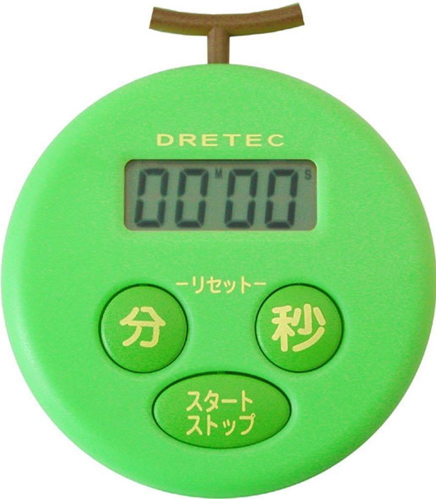 タイマー式勉強法「ドリテック メロンタイマー グリーン T-168GN」