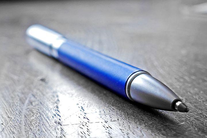 日本史の暗記方法・勉強法「青いペンを利用する」