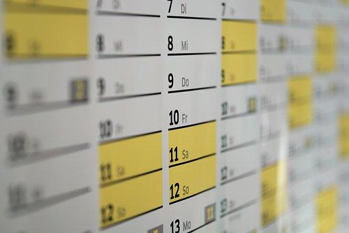 受験生における夏休みの計画、スケジュール作成手順④『計画を埋めていこう』