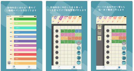 勉強の計画・管理のおすすめアプリ『コソ勉』