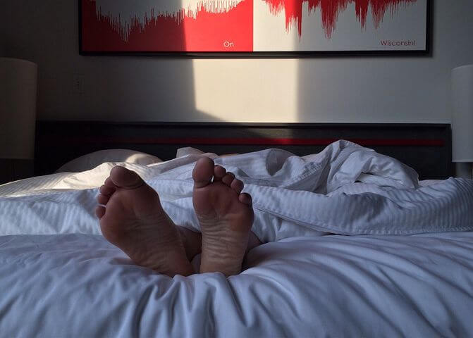 徹夜で勉強することのメリット「次の日ぐっすり眠れる」