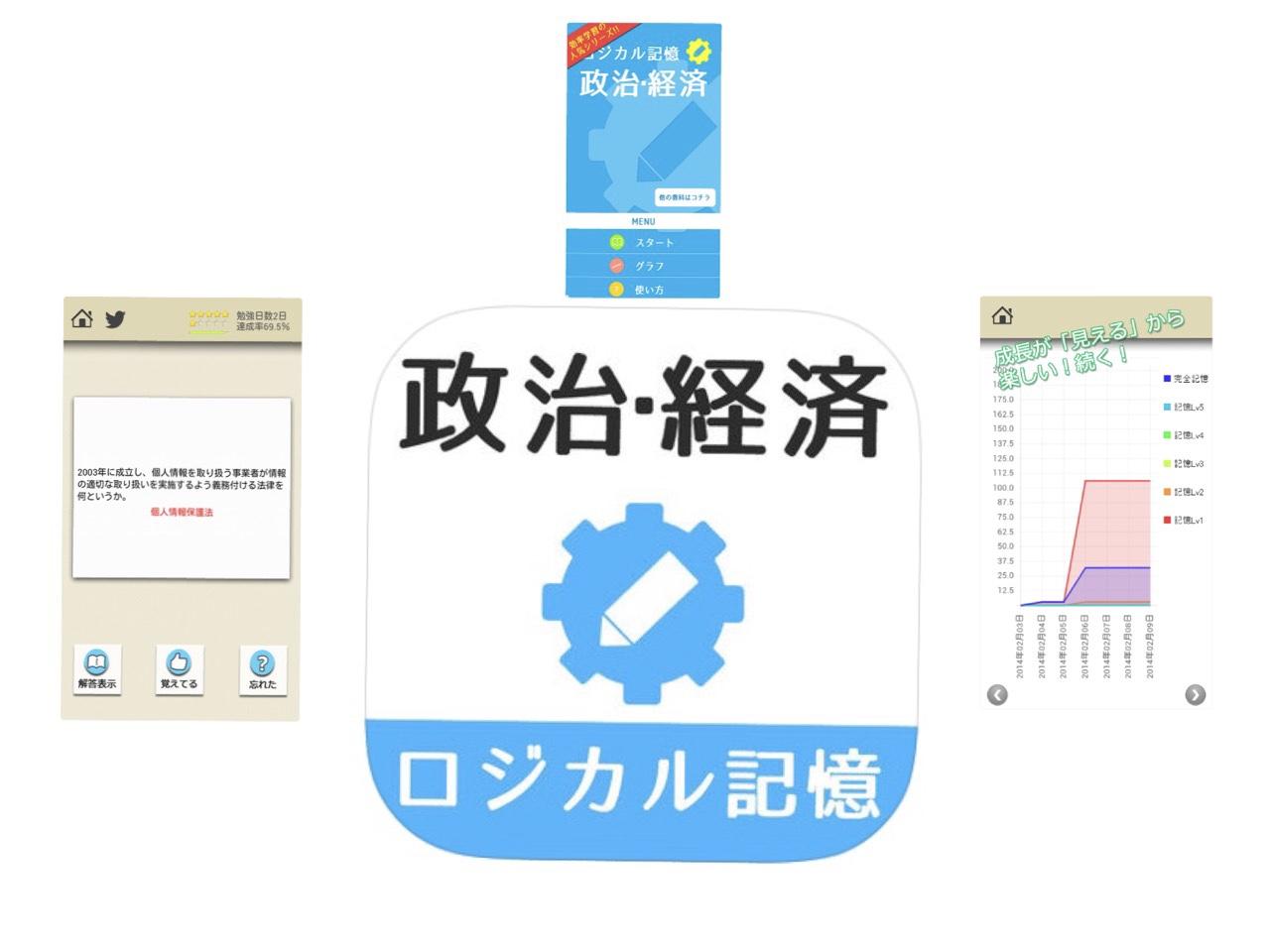大学受験勉強に欠かせない政治経済のアプリ5選