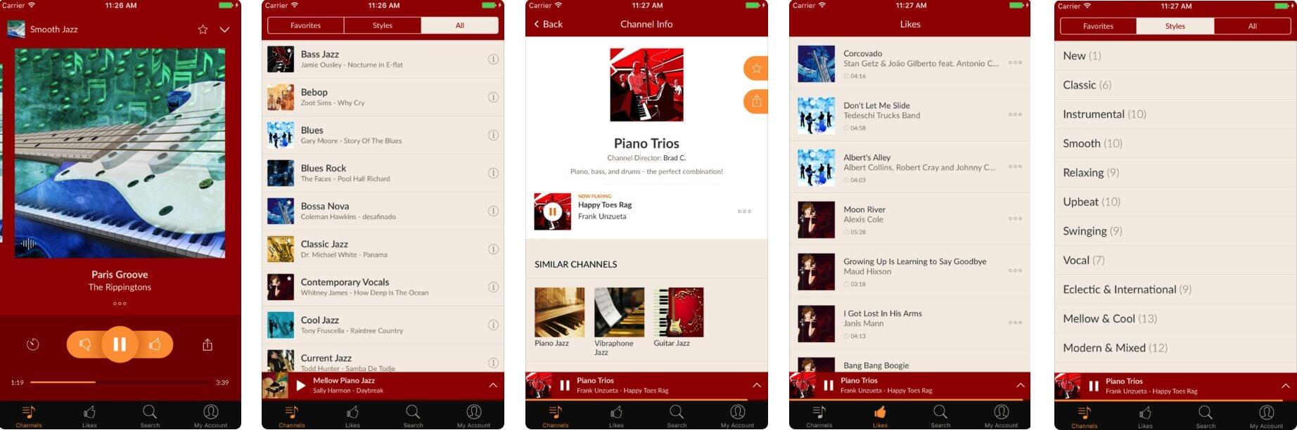 勉強が捗る音楽アプリ「Jazz Radio」