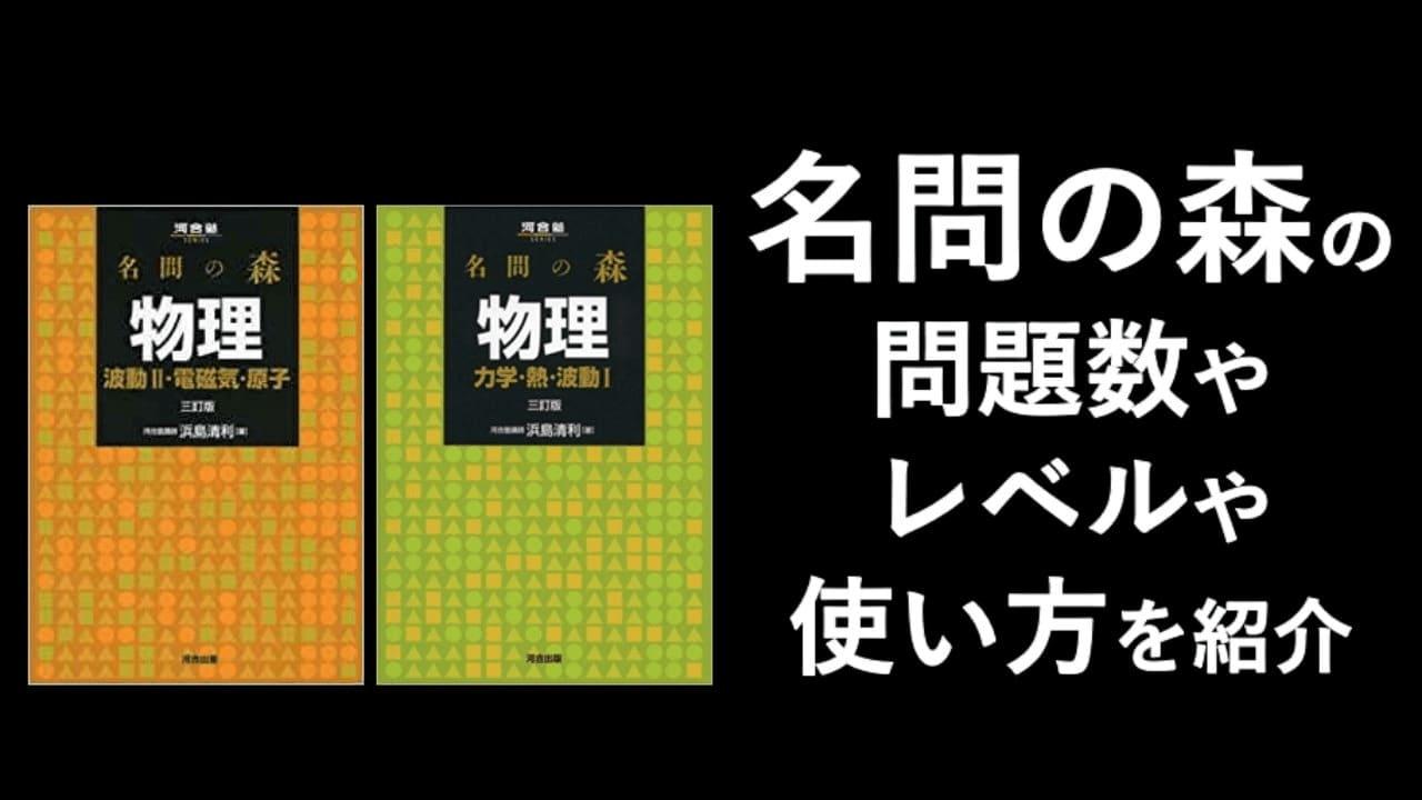 【名問の森】問題数・レベル・使い方を詳しく紹介!