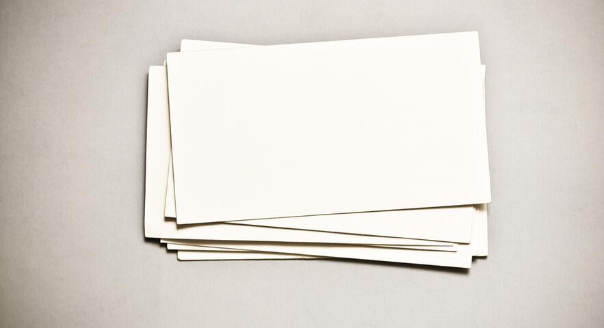 単語カードを作る上でのポイント「1回に作る単語カードは50枚程度にする」