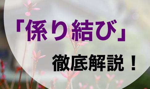 【誰でもできる】古文の係り結びの訳し方や覚え方を徹底解説!